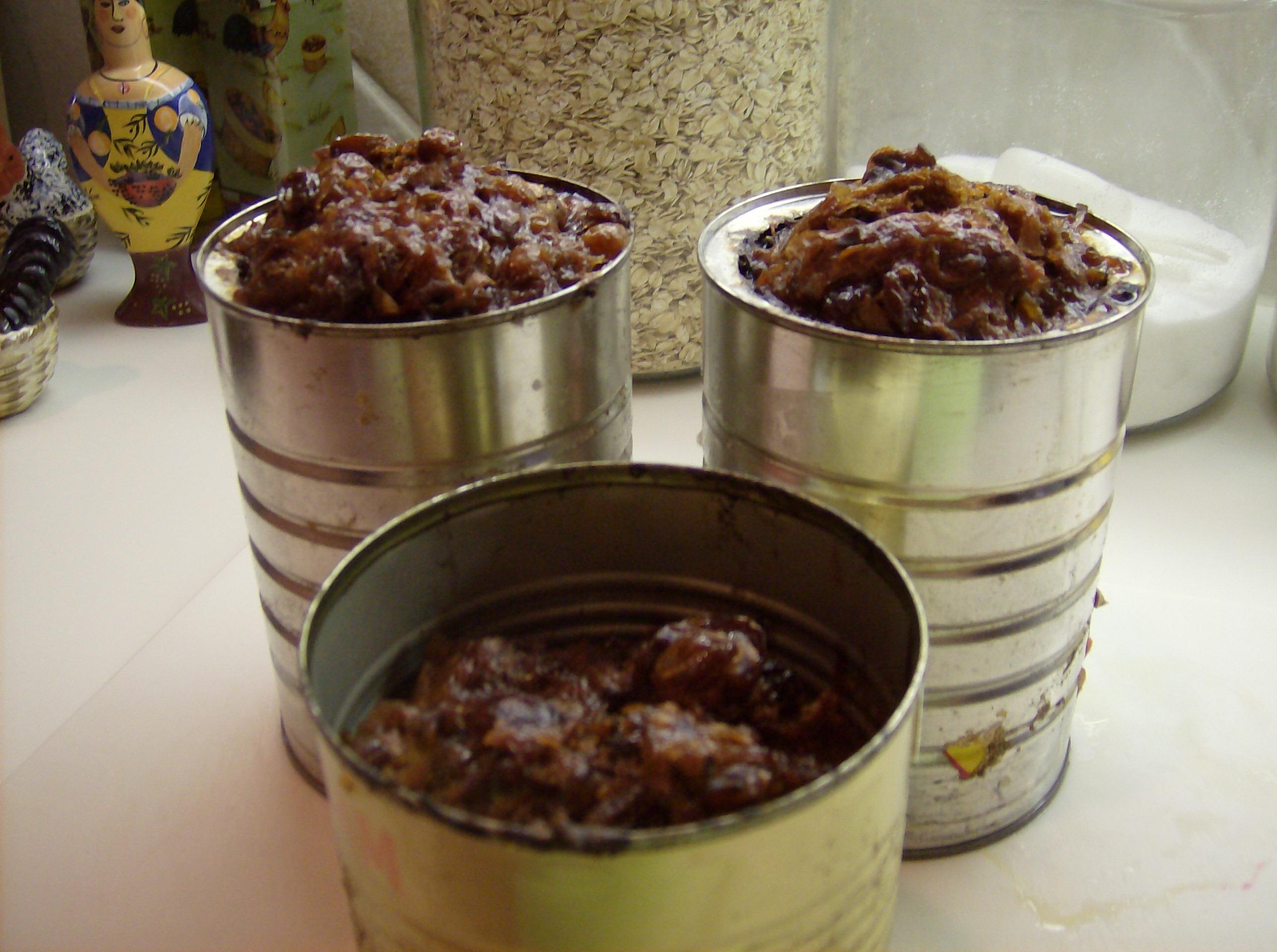 how to serve plum pudding