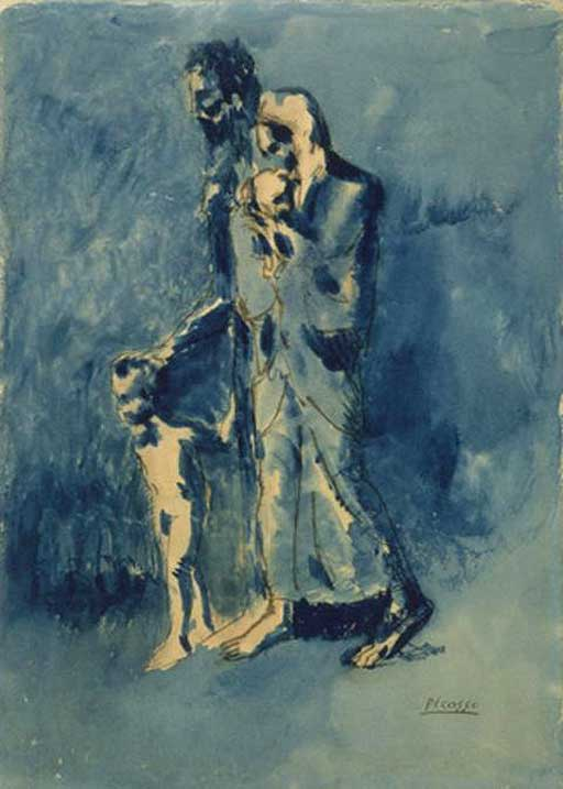 "picasso blue period images. the ""lue period"" like the"